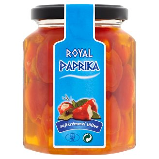 Valdor Royal Pepper in Sunflower Seed Oil Filled with Cream Cheese 250 g
