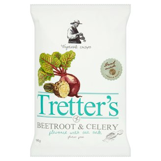 Tretter's tengeri sós zöldség chips 90 g