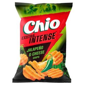 Chio Intense 3D sajtos és jalapeño chili ízű burgonyachips 65 g