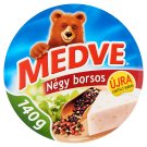 Medve Four Pepper Semi-Fat Processed Cheese Spread 8 pcs 140 g