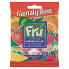 Candy Bon Fru Fruit Flavoured Chew with Strawberry, Lemon, Raspberry and Orange Flavours 60 g