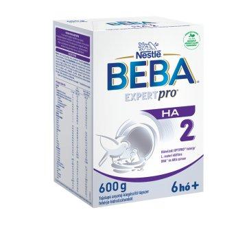 Beba Optipro HA 2 tejalapú anyatej-kiegészítő tápszer hidrolizált fehérjével 6 hónapos kortól 600 g
