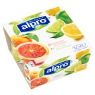 Alpro Blood Orange & Lemon-Lime Flavoured Soy Product 4 x 125 g