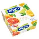 Alpro vérnarancs és lime-citrom szójakészítmény 4 x 125 g
