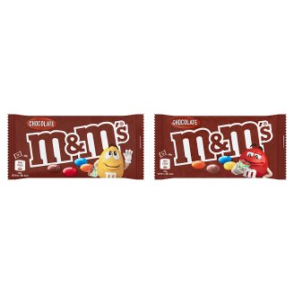 M&M's Milk Chocolate Dragées in Sugar Coating 45 g