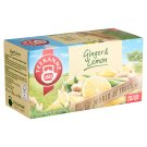 Teekanne World of Fruits Ginger & Lemon Flavoured Herbal and Fruit Tea Blend 20 Tea Bags 35 g