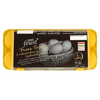 Tesco Finest Fresh Eggs L 10 pcs