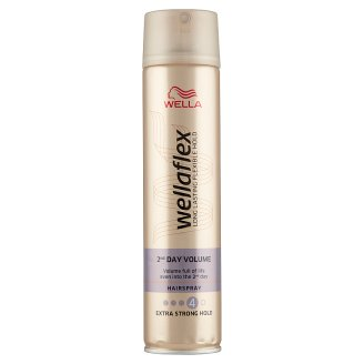 Wella Wellaflex 2nd Day Volume Extra Strong Hold Hairspray 250 ml