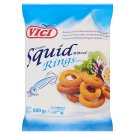 Vici Quick-Frozen Breaded Minced Squid Rings 500 g