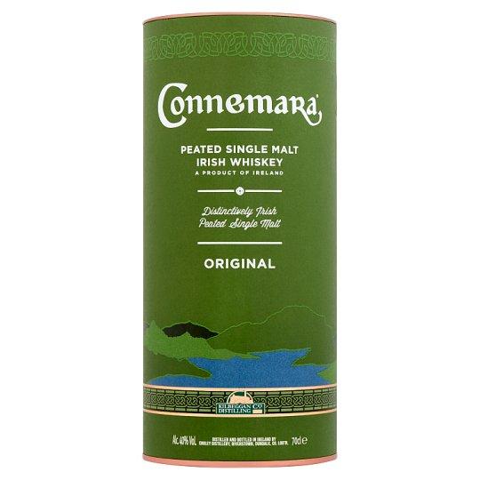 Connemara díszdobozos ír whiskey 40% 0,7 l