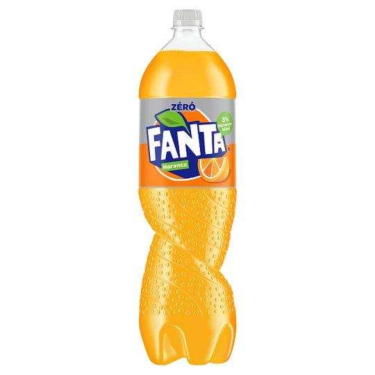Fanta Zero Narancs energiamentes szénsavas üdítőital édesítőszerekkel 1,75 l
