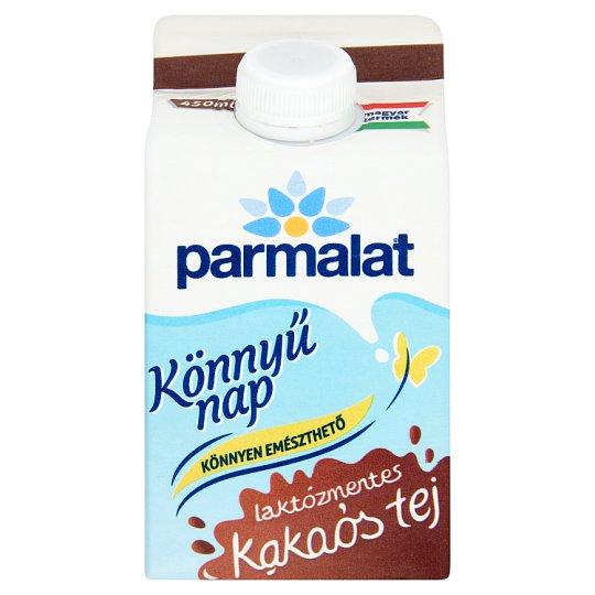 Parmalat Könnyű Nap laktózmentes zsírszegény kakaós tej 450 ml