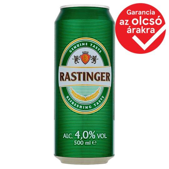 Rastinger világos sör 4% 500 ml