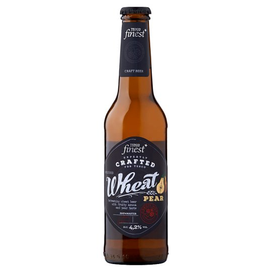Tesco Finest Unfiltered Pear Flavoured Premium Wheat Beer 4,2% 330 ml