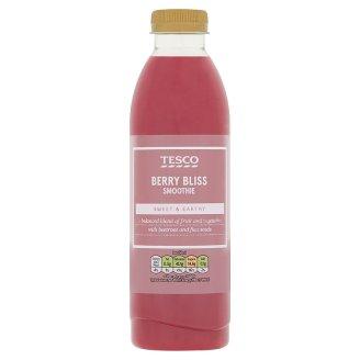 Tesco Berry Bliss gyümölcsalapú ital eperpürével-, cékla-, és feketeribizlilével 750 ml