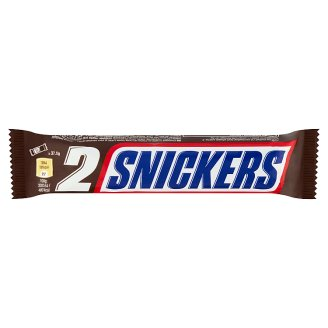 Snickers Milk Chocolate Filled with Nougat, Caramel and Roasted Peanuts 2 x 37,5 g