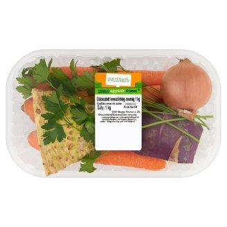 Tesco előkészített leveszöldség csomag 1 kg
