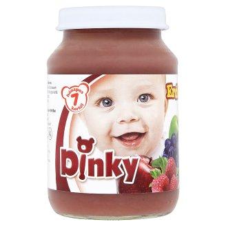 Dinky glutén- és tejszármazékmentes erdei gyümölcs mix bébidesszert 7 hónapos kortól 190 g