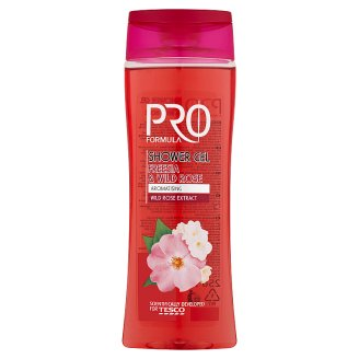 Tesco Pro Formula Freesia & Wild Rose Shower Gel 250 ml