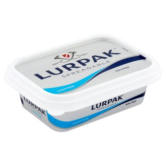 Lurpak Slightly Salted Spreadable Reduced Fat Content Mixed Product 200 g