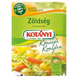 Kotányi Könnyű Konyha illatos-gyümölcsös zöldség fűszerkeverék 25 g