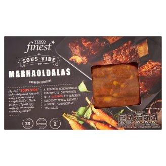 Tesco Finest Sous-Vide lassan főzött marhaoldalas fűszerezve, Bourbon szósszal 310 g + 50 g