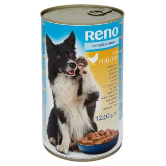 Reno teljes értékű állateledel felnőtt kutyák számára baromfival 1240 g