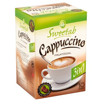 Sweetab Cappuccino 3 in 1 Instant Coffee 10 pcs 100 g