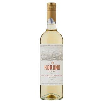 Egri Korona Borház Egri Fehér Ottonel Muskotály-Hárslevelű félédes fehérbor 12% 750 ml