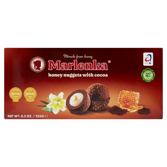 Marlenka Honey Nuggets with Cocoa 235 g