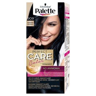 Schwarzkopf Palette Perfect Care Color 909 Bluish Black Permanent Hair Colorant
