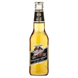 Miller Genuine Draft minőségi világos sör 4,7% 330 ml