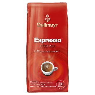 Dallmayr Espresso Intenso Roasted Coffee, Whole Beans 1000 g