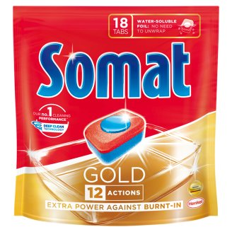 Somat Gold Dishwasher Tabs 18 pcs 345,6 g