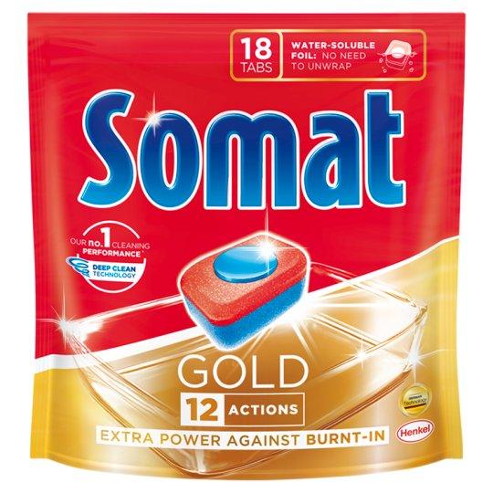 Somat Gold Dishwasher Tabs 18 pcs 345,6 g