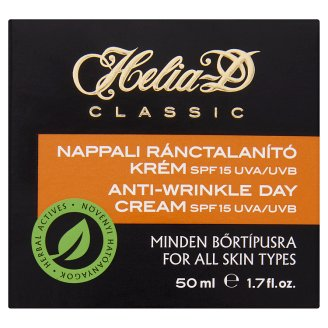 Helia-D Classic Anti-Wrinkle Day Cream for All Skin Types 50 ml