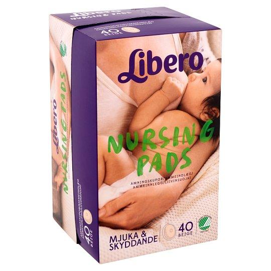 Libero Beige Nursing Pads 40 pcs