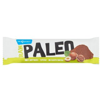 MaxSport Paleo Raw Bar with Hazelnuts and Cocoa 50 g