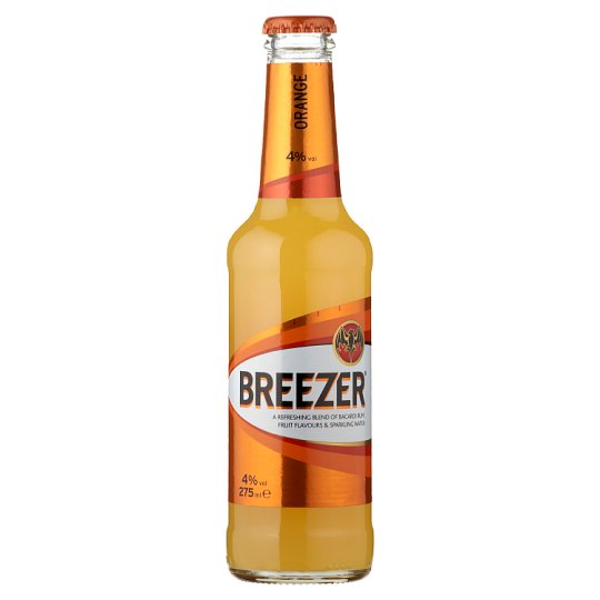 Bacardi Breezer Orange Alcoholic Mixed Drink 4% 275 ml