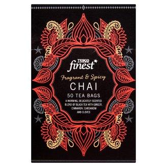 Tesco Finest Black Tea with Spices 50 Tea Bags 125 g