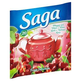 Saga meggy gyümölcstea 20 filter