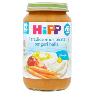 HiPP Tomato & Pasta with Fish Food for Babies 12+ Months 220 g