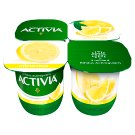 Danone Activia Low-Fat Lemon Yoghurt with Live Cultures 4 x 125 g
