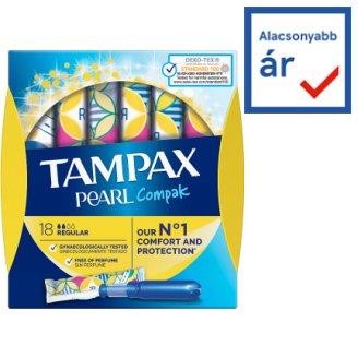 Tampax Compak Pearl Regular Tampons Applicator 18X