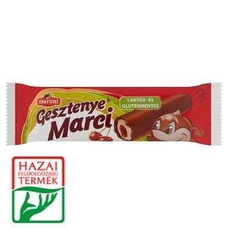 Maroni Gesztenye Marci laktóz- és gluténmentes házi meggydzsemes gesztenyerúd 30 g