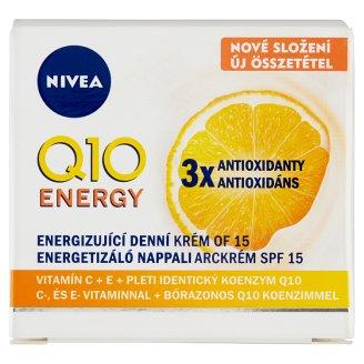 NIVEA Q10 Plus C Anti-Wrinkle Energetic Day Facial Cream SPF 15 50 ml