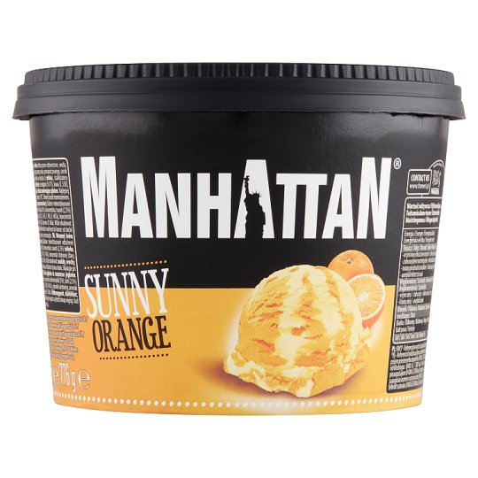 Manhattan Classic Sunny Orange Ice Cream 1,4 l