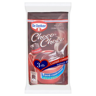 Dr. Oetker Choco-Choco Hot Chocolate Drink Powder with Dark Chocolate 3 x 32 g