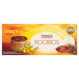 Tesco filteres Rooibos tea 20 filter 40 g