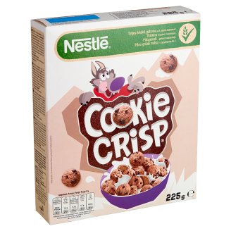 Nestlé Cookie Crisp Cookie Shaped Chocolate Flavoured Crunchy Cereal 225 g